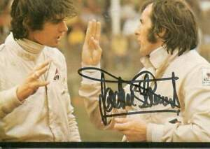 Jackie Stewart FORMULA ONE DRIVER autograph, signed photo