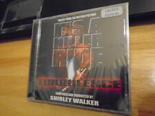 SEALED RARE LIMITED EDITION Turbulence CD soundtrack Shirley Walker 2000 COPIES