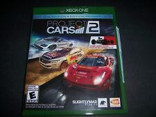 Replacement Case (NO  GAME) Project Cars 2 Two XBOX ONE 1 XB1 100% Original