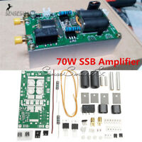 DIY Kits 70W SSB linear HF Power Amplifier For YAESU FT-817 KX3 Ham Radio