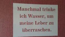2332 Schablonen Spruch Vintage Stanzschablone Shabby Wandtattoos Stencil Bilder