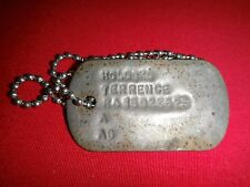 Military ID Dog Tag + Ball Chain Of A US Army Soldier Named HOLOSKO TERRENCE
