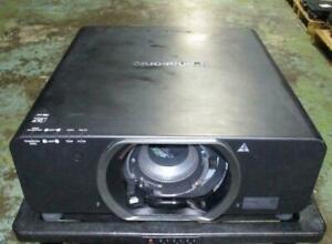 Panasonic PT-DZ8700U WUXGA Large Venue DLP Projector 10.6K Lumens 5498H/931/931H
