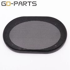 "GD-PARTS 2PCS 4""x6"" Speaker Cover Car Audio Steel Mesh Grill Decorative Circle"