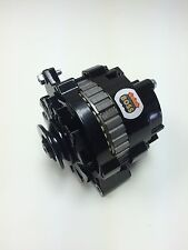 CHEVROLET, OLDSMOBILE, PONTIAC MINI 1 WIRE HO BLACK POWDER COAT ALTERNATOR 180 A
