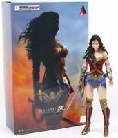 "Wonder Woman (Movie Verion) Play Arts Kai 9"" Figure DC Comics   12"