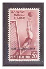 EGEO  1934   -   MONDIALI DI CALCIO   CENTESIMI 20   NUOVO **