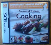PERSONAL TRAINER COOKING NINTENDO DS VIDEO GAME COMPLETE WORKING