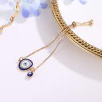 Charm Women 1PC Lucky Crystal Evil Eye Party Bangle Bracelet Jewelry Elegent