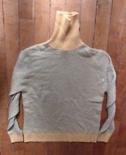 MAGNIFIQUE PULL CHAUD COL ROULE LAINE NEUF TAILLE 36 38