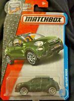 Matchbox '16 green Fiat 500X
