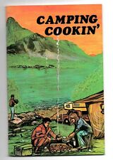 VINTAGE MAILABLE CAMPING COOKIN' COOK BOOK 1973 - BRAND NEW - FREE SHIPPING!