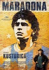 MARADONA BY KUSTURICA Movie POSTER 11x17 Swedish Lucas Fuica Emir Kusturica