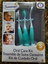 Summer Infant Oral Care Kit 5 Pieces brand new