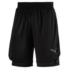 Abbiglimento sportivo da uomo pantaloncini nero idrorepellente