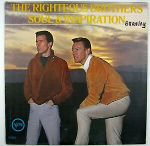 RIGHTEOUS BROTHERS Soul & Inspiration LP 1966 BLUE EYED SOUL NM- NM-