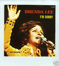 45 RPM SP BRENDA LEE I'M SORRY / DUM DUM