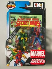 """Marvel Universe 3 3/4"""" THUNDERBALL & SPIDER-MAN Action Figure 2 Pack Comic"""