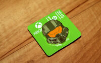 Xbox One Limited Edition Halo 5 Master Chief promo Pin from Gamescom 2015