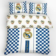 REAL MADRID CF à carreaux Set Housse de couette double européen taille coton