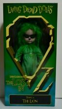 LDD MEZCO Living Dead Dolls Lost in Oz Emarald Variant - The Lion - SEALED