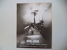 advertising Pubblicità 1973 DEMM PING PONG PINGPONG 50