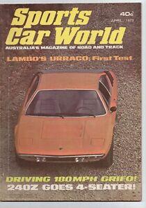 Sports Car World 1973 April