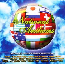 NATIONAL ANTHEMS * INSTRUMENTAL VERSIONS * NEW & SEALED CD