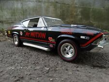 Ertl 1968 Chevy Chevelle Mr Motion 1:18 Scale Diecast American Muscle Race Car