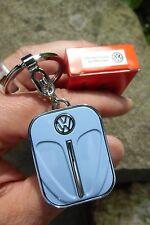 German Volkswagen VW Classic Beetle BUG - Light Blue Front Hood Keychain