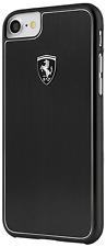 Ferrari HERITAGE Collection Aluminium iPhone 7 Plus, 8 Plus HÜLLE Schwarz