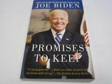 Joe Biden President 2020 Signed Autograph Promises To Keep Book Legends Coa