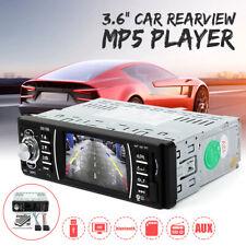 12V 3.6'' HD bluetooth Car MP5 Player Radio Audio Stereo FM USB SD AUX In-Dash
