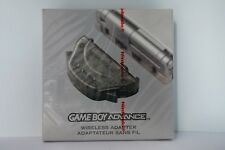 Gameboy Advance Nintendo Wireless Adapter GBA para Pokemon new sealed red strip