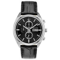 Bulova Surveyor Men's Quartz Chronograph Day-Date Calendar 42mm Watch 96C133