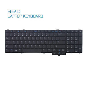 Laptop Keyboard for Dell Latitude E5540 Non-Backlit and Non-Pointer, US, 4RNXY