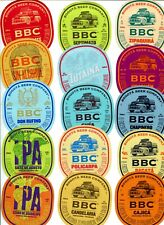 COLOMBIA SET 15 CRAFT  BEER LABELS SOUTH AMERICA CHRISTMAS TUTAINA BBC
