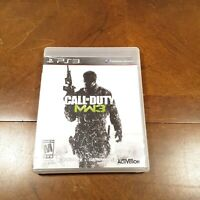 Call of Duty: Modern Warfare 3 CIB Sony PlayStation 3 PS3 Game FREE SHIPPING