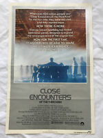 """Close Encounters Of The Third Kind"" 1980 Original Movie Poster 1st Issue 27x40"