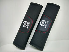 Pair Car Seat Belt Pads Shoulder Strap Cushion Covers For Nissan