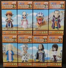 ONE PIECE WCF World Collectable Figure vol.15 Arabasta Complete set