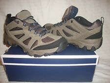 New Men's Croft & Barrow Ortholite Low Hiking Boots Size 9.5 - Taupe