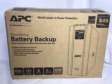 APC Power Saving Battery Backup BR1000G 8-Outlet 1000VA/600W New Open Box