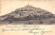 4665) SALUTI DA PONZANO ROMANO (ROMA) PANORAMA. VIAGGIATA NEL 1939.