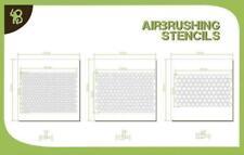 Bandua Airbrush Stencil  Stencils - Hexagon Pattern #1 New