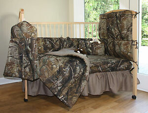 Realtree Camo Baby Fitted Crib Sheet - Infant Toddler Bed