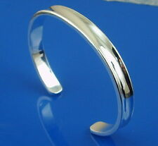 925Sterling Silver Jewelry Lovely 1837 Small Circle Men Bracelet Bangle B108