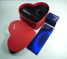 Special Edition Ruby Red Pelikan M320 Souveran Fountain Pen 14k nib EF nib !