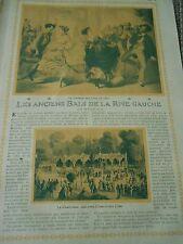 Les Anciens Bals de la Rive Gauche Art Print