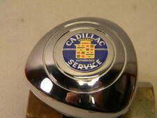 CADILLAC STEERING WHEEL SPINNER KNOB   ONLY FITS NEW VEHICLES PADDED WHEELS